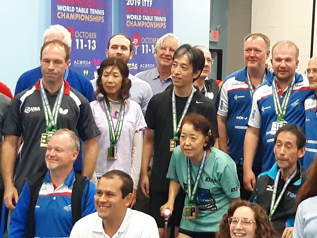 First Parkinson's World Table Tennis Championships 2019 NY
